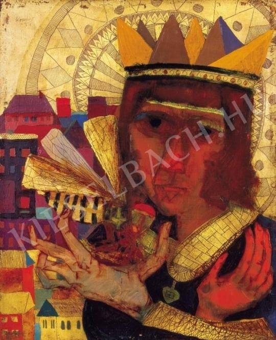 Kondor Béla - Darázskirály, 1964 (1963) festménye