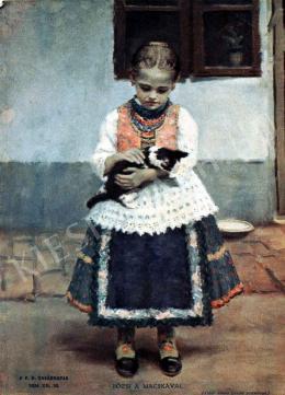 Áldor János László - Bözsi a macskával
