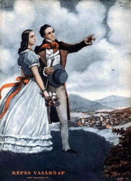 Biczó András - Fiatal pár