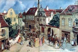 Biczó András - Várbeli hangulat hajdanában Szent István napján