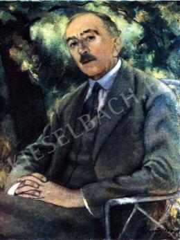 Feszty Masa - Herczeg Ferenc portréja