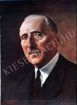 Glatz, Oszkár - The Seventy-Year-Old  Ferenc Herczeg