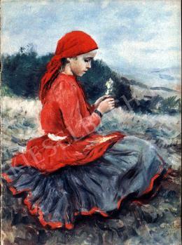 Glatz, Oszkár - Juliska and her Little Doll