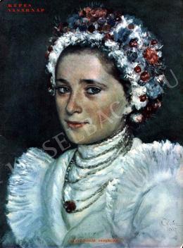 Glatz, Oszkár - Young Wife