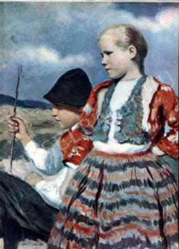 Glatz, Oszkár - Children on the Field