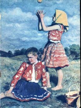 Glatz, Oszkár - Children Playing Ball