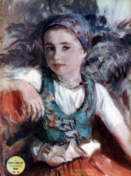 Glatz, Oszkár - Peasant  Girl