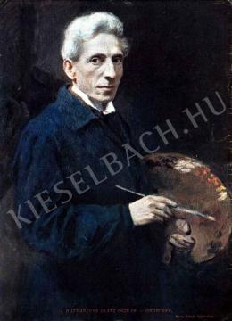 Glatz, Oszkár - The Sixty-Year-Old Oszkár Glatz, the Painter