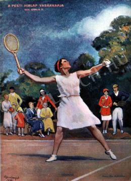 Hadzsy Olga - Tenisz