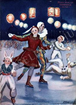 Hadzsy Olga - Farsangi korcsolyázás