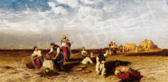 Böhm Pál - Esti hangulat | 23. Aukció aukció / 41 tétel