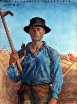 Kunffy Lajos - Megkezdődött az aratás