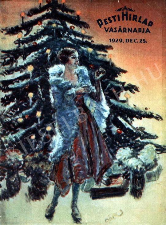 Márk Lajos - Karácsony festménye