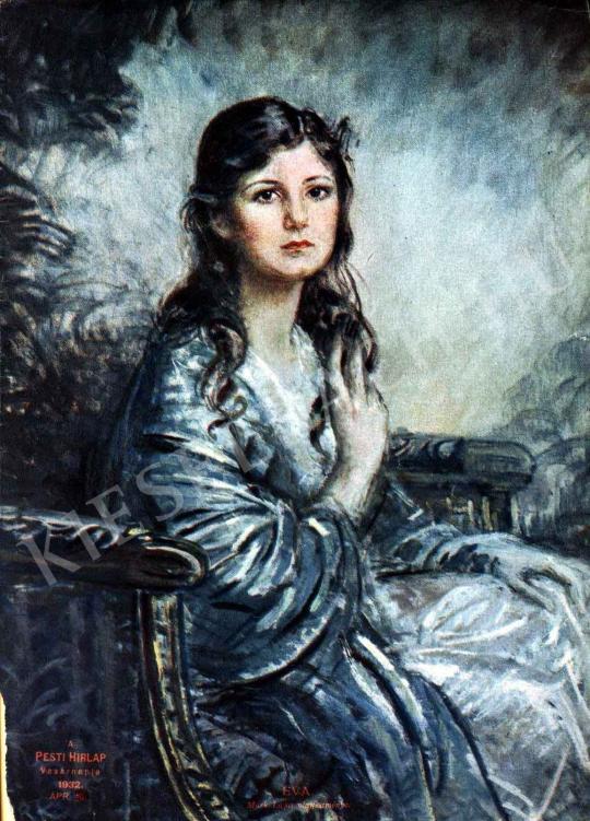 Márk Lajos - Éva festménye