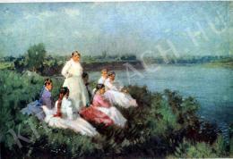 Nyilasy Sándor - Lányok a Tisza partján