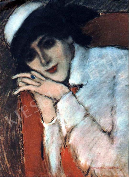 Rippl-Rónai József - Merengés festménye