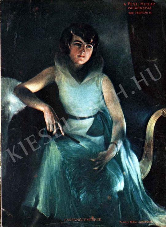 Tamásy Miklós - Farsangi emlékek festménye