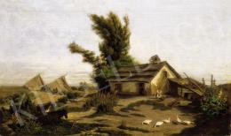 Kummer János - Faluvége (1858)