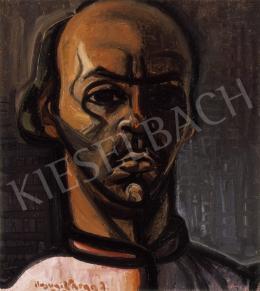 Ilosvai Varga István - Önarckép, 1940 körül