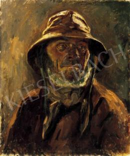 Perlmutter Izsák - Holland halász, 1898