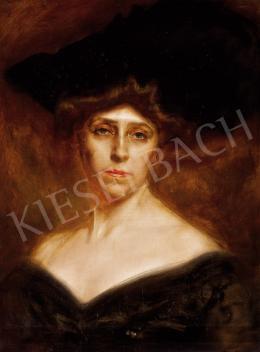Karlovszky Bertalan - Női portré