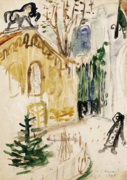 Ámos, Imre - Synagogue, 1936