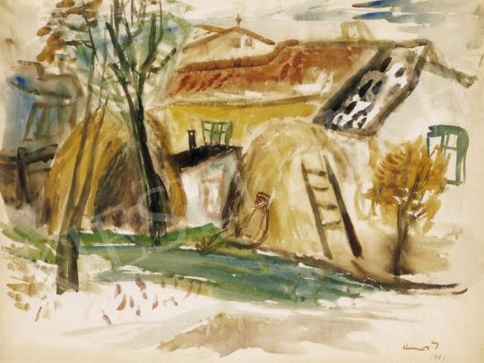 Ámos, Imre - Haystacks in Szentendre, 1941 | 27th Auction auction / 120 Item