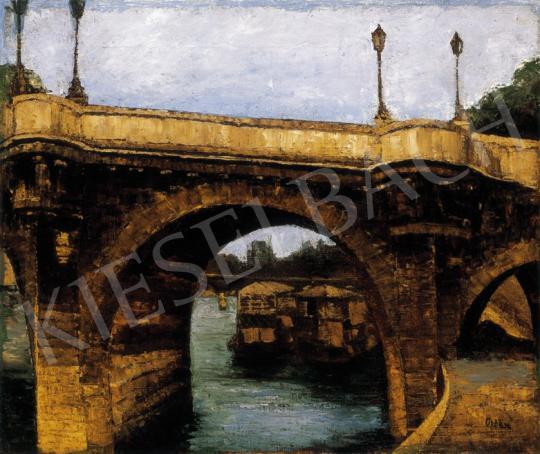 Orbán Dezső - Híd a Szajnán | 27. Aukció aukció / 126 tétel