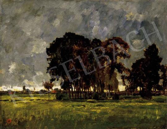 Paál László - Vihar után (Beileni táj) | 27. Aukció aukció / 128 tétel