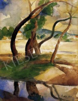 Patkó, Károly - Trees, 1924