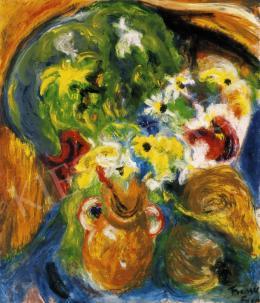 Frank Frigyes - Virágcsendélet, 1935