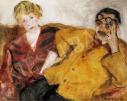 Frank Frigyes - Kanapén (Házaspár), 1935
