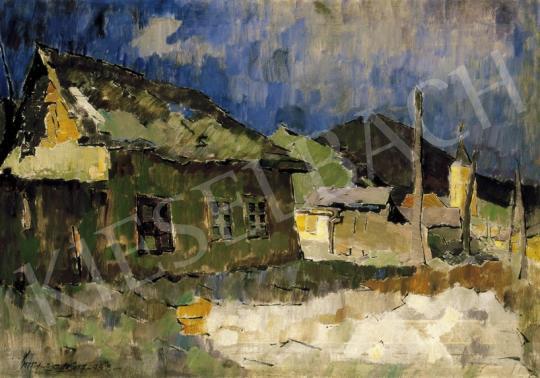 Nagy, Oszkár - Nagybánya Street | 27th Auction auction / 200 Lot