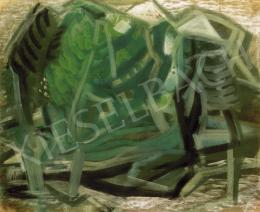 Vaszkó Erzsébet - Dombos táj