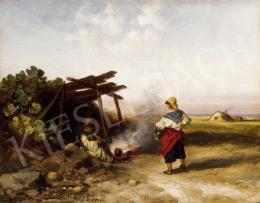 Böhm Pál - Tűz mellett