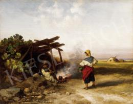 Böhm, Pál - By the Fire