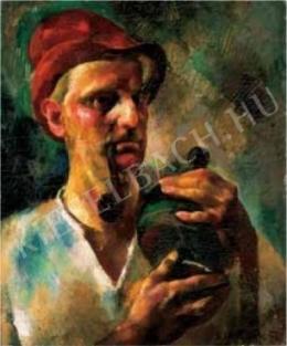 Aba-Novák Vilmos - Önarckép, 1926