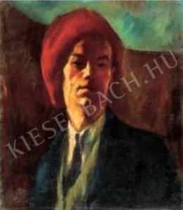 Szőnyi István - Önarckép vörös sapkában, 1919 (2016-04-06)