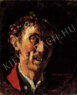 Rudnay, Gyula - Self-Portrait Laughing, Late 1910s