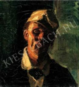 Rudnay, Gyula - Self-Portrait in a Painter's Cap, 1920s