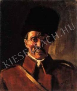 Rudnay Gyula - Kozák önarckép, 1910-es évek második fele