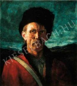 Rudnay, Gyula - Self-Portrait in a Cossack Cap, c. 1915