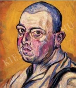 Scheiber, Hugó - Self-Portrait, Late 1910s