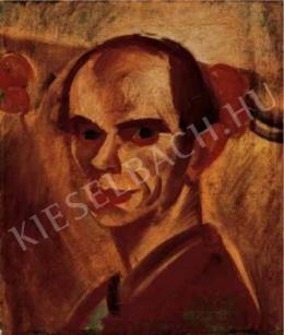 Derkovits Gyula - Önarckép, 1926