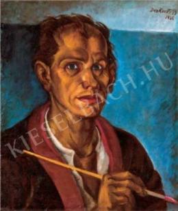 Derkovits Gyula - Önarckép, 1925