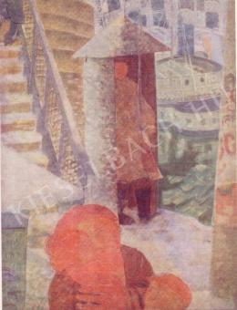Derkovits Gyula - Híd télen, 1933