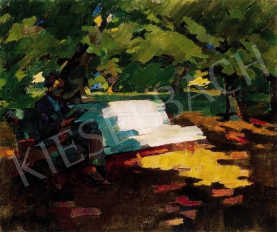 Nagy Oszkár - Nagybányai ligetrészlet | 23. Aukció aukció / 95 tétel
