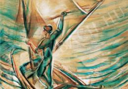 Egry József - Vitorlaigazító, 1927