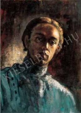 Ámos, Imre - Self-Portrait, 1929/1930 painting