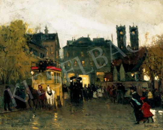 Berkes Antal - Párizsi este, 1908 | 28. Aukció aukció / 7 tétel